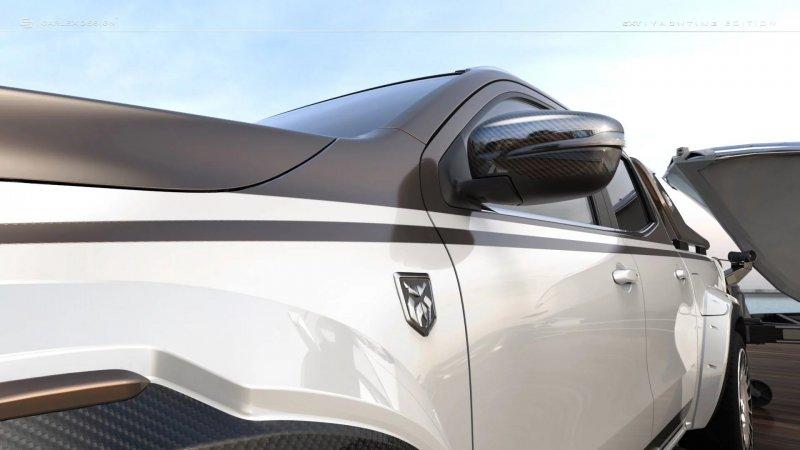Mercedes X-Class в тюнинге от мастерской Carlex Design