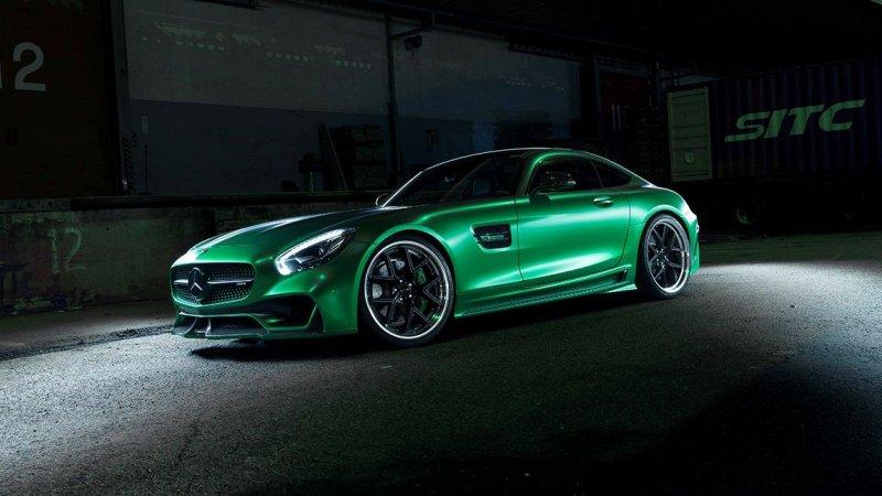 Mercedes-AMG GT с кастомным обвесом от Wald International