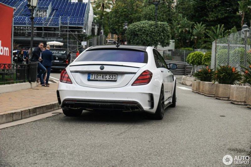 Редкий Mercedes S63 Signature Edition от мастерской Mansory