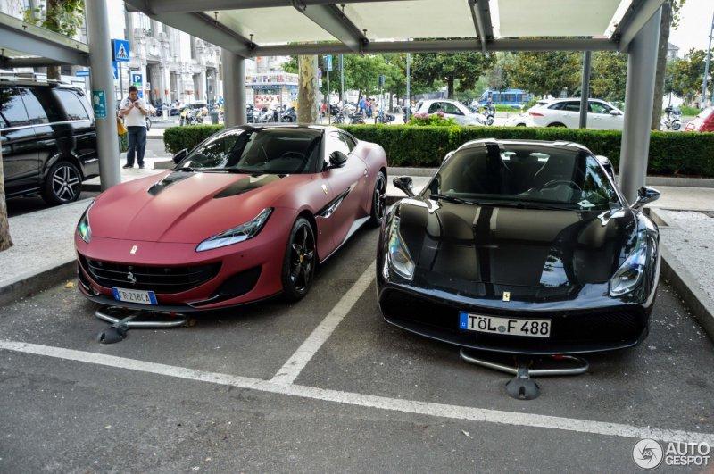 Уникальный двухцветный Ferrari Portofino