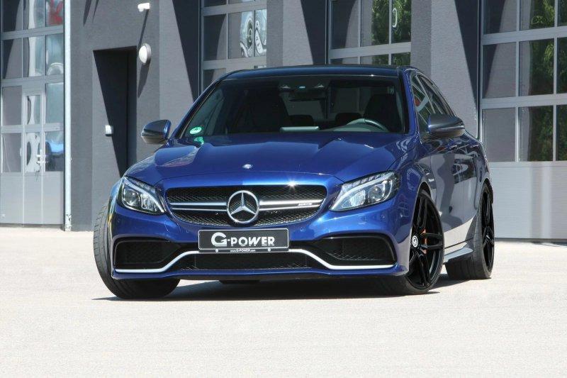 Mercedes-AMG C63 S в исполнении G-Power