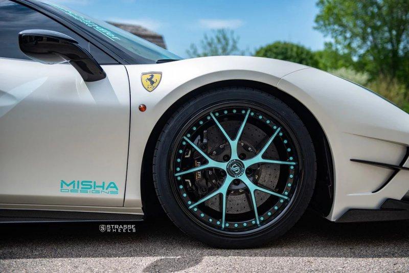 Ferrari 488 GTB в исполнении Misha Designs