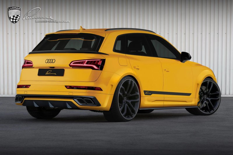 Audi SQ5 в обвесе от Lumma Design