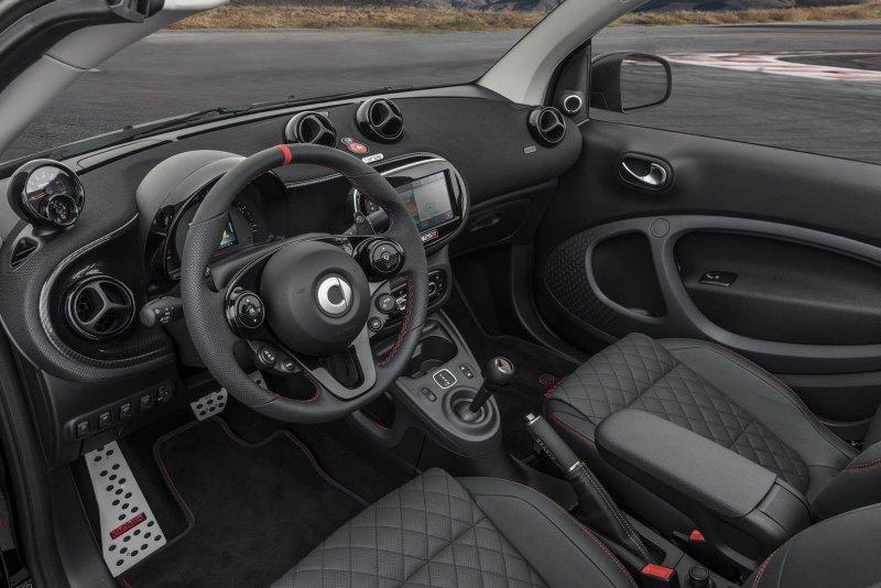 Мастера Brabus удвоили мощность Smart Fortwo Cabrio