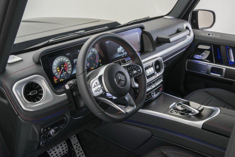 Brabus разогнал новый Mercedes G500 до 500 лошадей