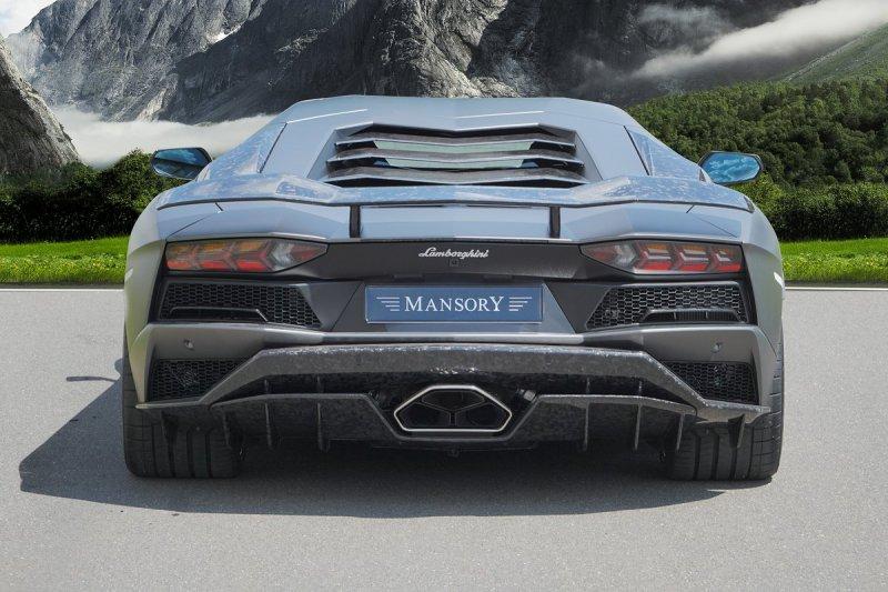 Lamborghini Aventador S в тюнинге от Mansory