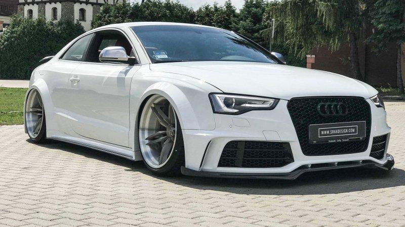 Audi S5 Coupe в тюнинге от SR66 Design