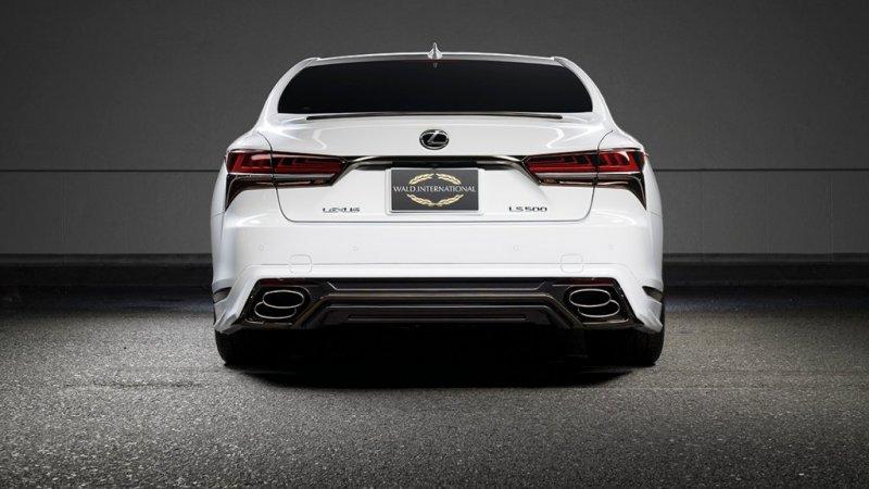 Wald International кастомизировал новую линейку Lexus LS