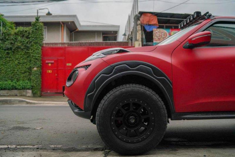 Nissan Juke в исполнении Autobot Autoworks