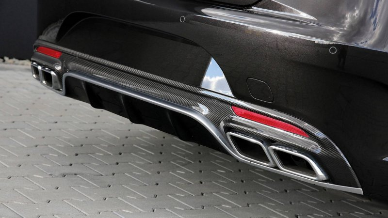 991-сильный Mercedes-AMG S63 Cabriolet от мастеров Posaidon