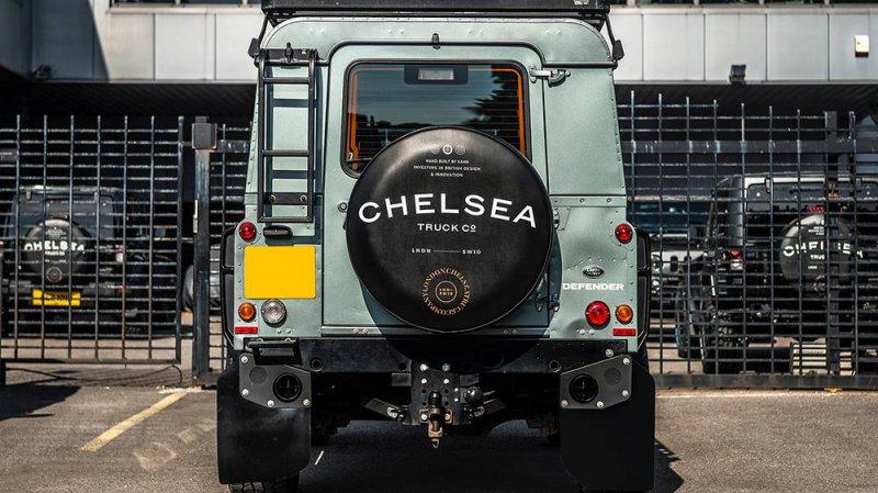 Роскошный Land Rover Defender от Chelsea Truck Company