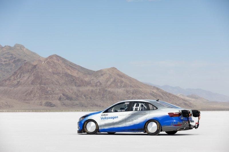Volkswagen Jetta от THR Manufacturing установил рекорд скорости в классе G/BGC