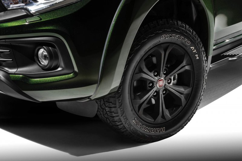 Люксовый концепт Fiat Fullback Cross от Garage Italia Customs