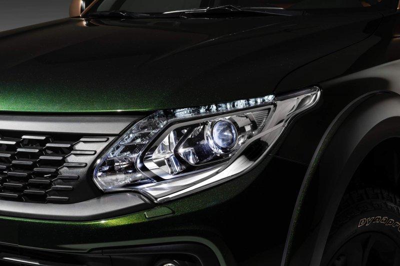 Люксовый концепт Fiat Fullback Cross от Garage Italia Customs