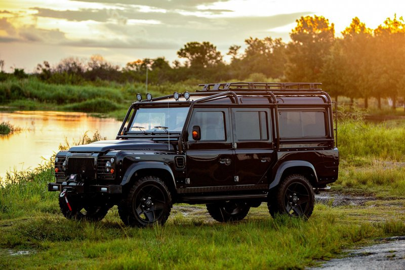 Land Rover Defender в тюнинге ECD Automotive Design