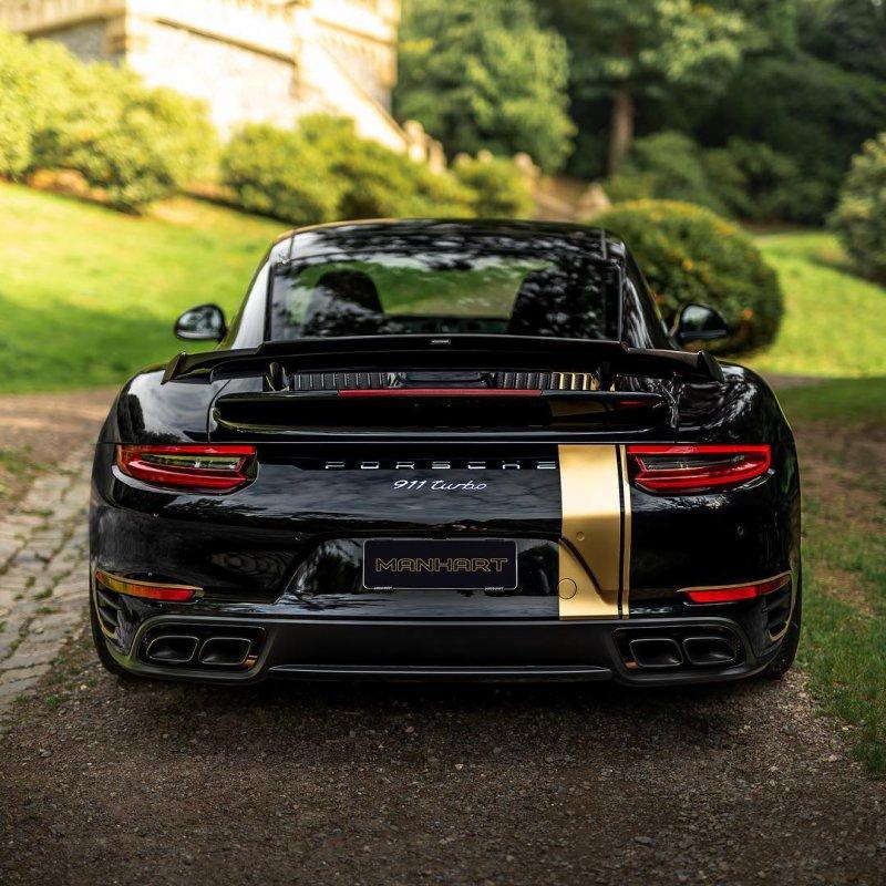 670-сильный Porsche 911 Turbo от Manhart