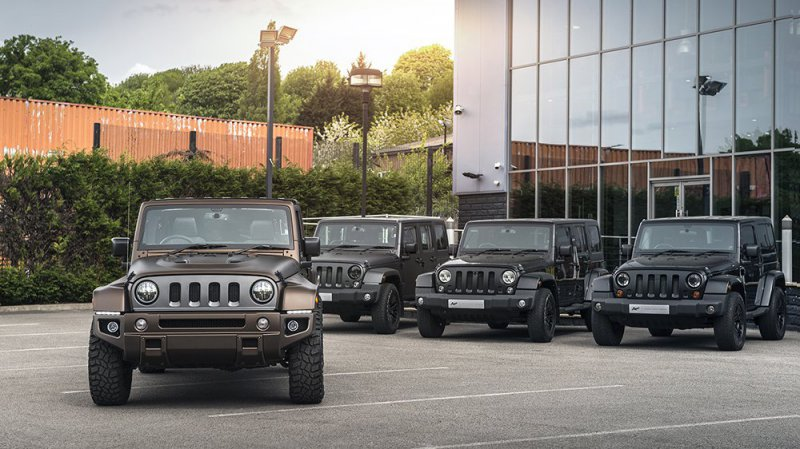Jeep Wrangler Night Eagle в исполнении Chelsea Truck Company