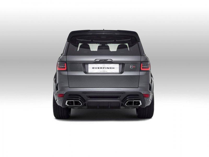 Range Rover Sport в тюнинге Overfinch