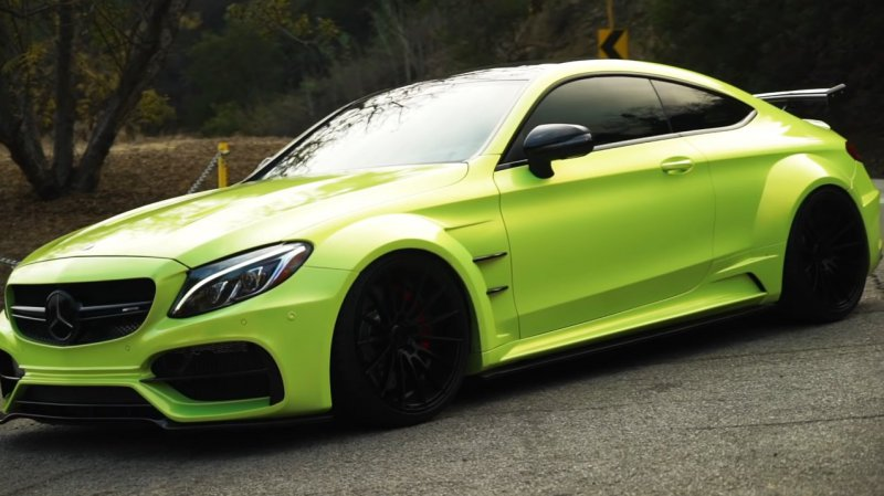Mercedes-AMG C63 S Coupe в модификации RDBLA и Prior Design