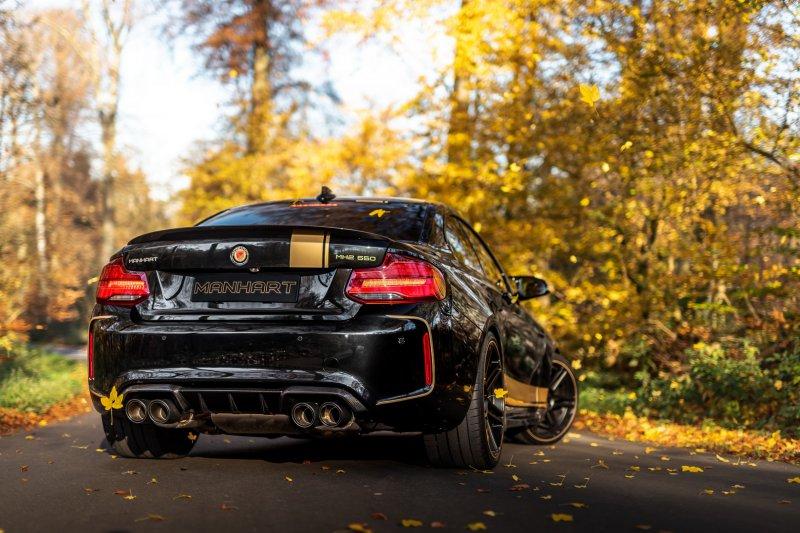 542-сильная BMW M2 Competition от мастеров из Manhart