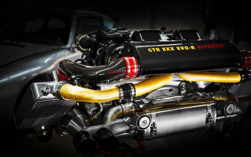 Тюнинг-комплект Gemballa GTR EVO-R для Porsche 911 Turbo