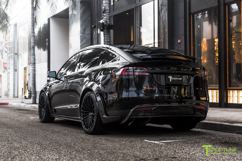 1548761454 10 - Tesla Model X в исполнении мастеров TSportline