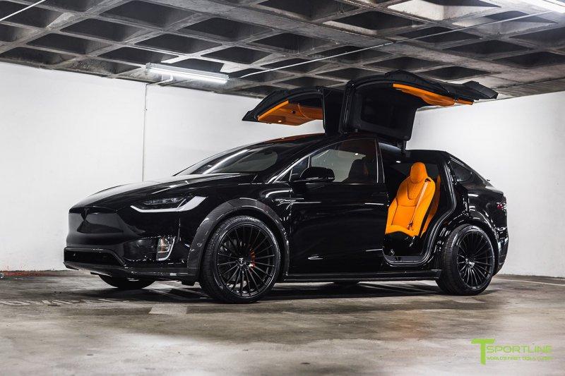 1548761505 17 - Tesla Model X в исполнении мастеров TSportline