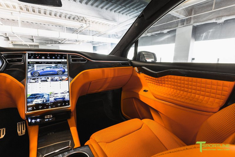 Tesla Model X в исполнении мастеров TSportline