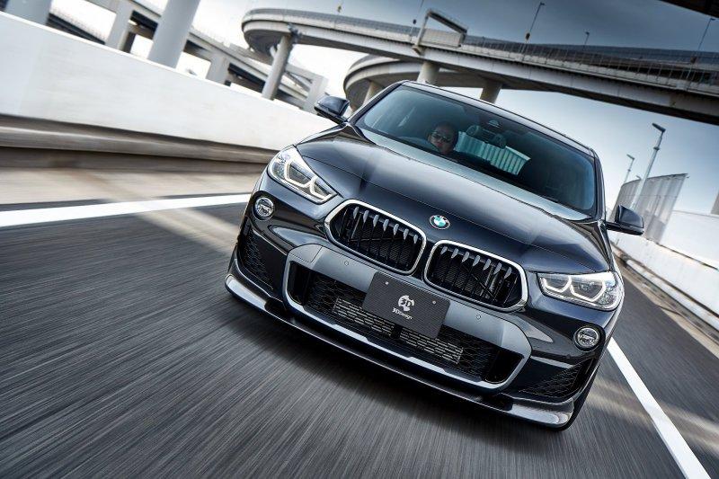 BMW X2 в тюнинге от мастеров 3DDesign