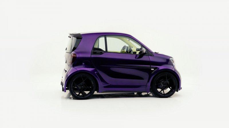 Smart ForTwo на стероидах от мастерской Mansory