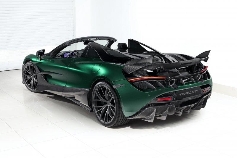 McLaren 720S Spider Fury в обвесе от TopCar