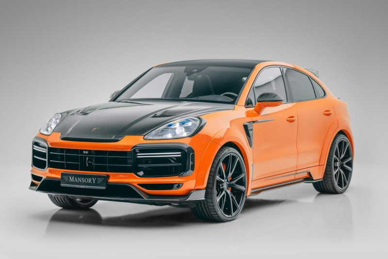 В Mansory модифицировали Porsche Cayenne Turbo Coupe