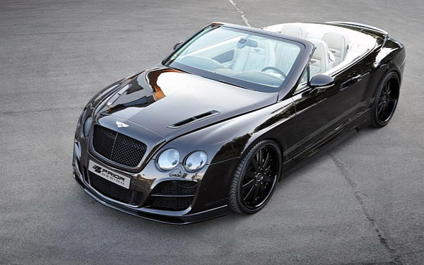 Bentley Continental GTC High Society от Prior Design