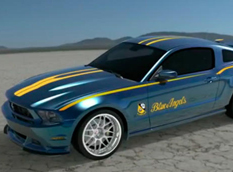 "Ford Mustang ""Blue Angels"" Edition 2012"