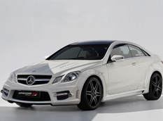 Mercedes-Benz E-Class Coupe от Expression Motorsport