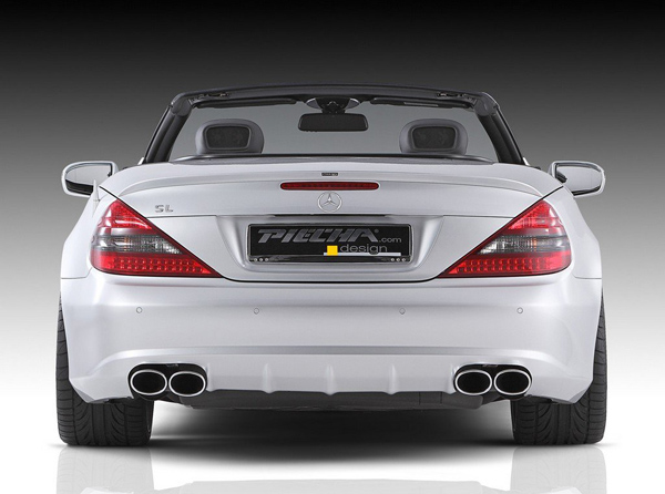 Родстер Mercedes-Benz SL R230 от Piecha Design