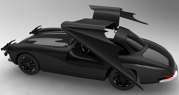 Dragon Gullwing Concept от мистера Khosravi