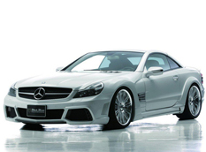 Mercedes-Benz SL Black Bison от Wald International