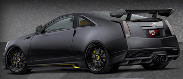 Cadillac CTS-V Coupe Le Monstre от D3 Group