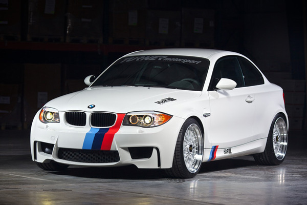 BMW 1-Series M Coupe в тюнинге H & R Springs