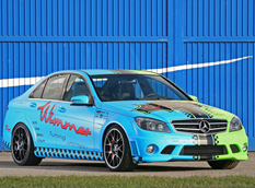 Mercedes C 63 AMG от Wimmer RS