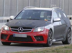 Mercedes-Benz готовит C 63 AMG Estate Black Series