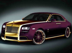 Rolls-Royce Ghost Paris Purple от Fenice Milano