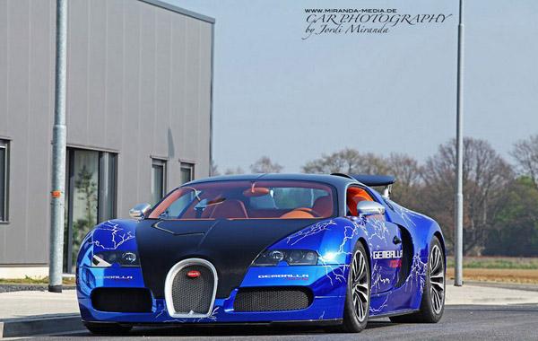 Gemballa Racing подготовила свой Bugatti Veyron