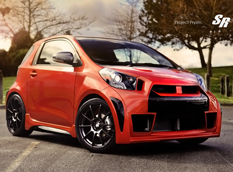Project Prysm - Scion iQ в тюнинге SR Auto