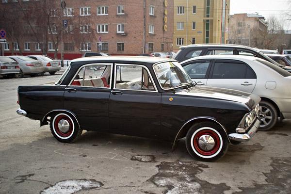 Москвич 408 по прозвищу «Стильный гангстер»