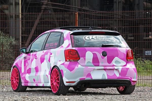 Volkswagen Polo в тюнинге Car Film Components