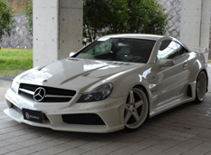 Mercedes-Benz SL55 AMG от Vitt Performance