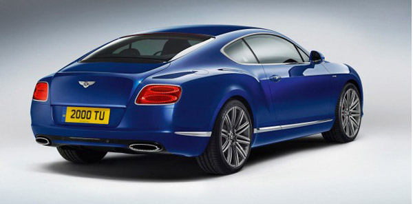 Анонсирован Bentley Continental GT Speed