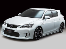 Lexus CT200h Black Bison от Wald International